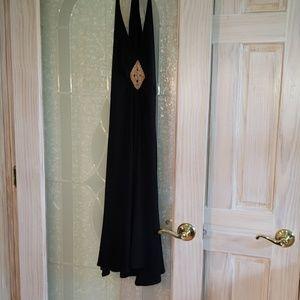 Jones NY Black Halter Dress